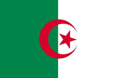 アルジェリア民主人民共和国の国旗