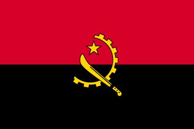 アンゴラ共和国の国旗