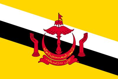 ブルネイ・ダルサラーム国の国旗