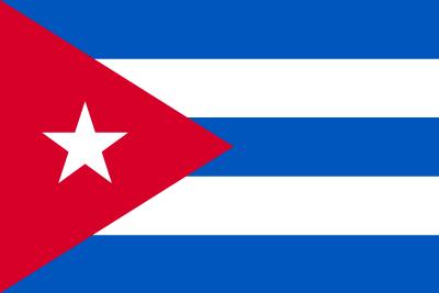 キューバ共和国の国旗