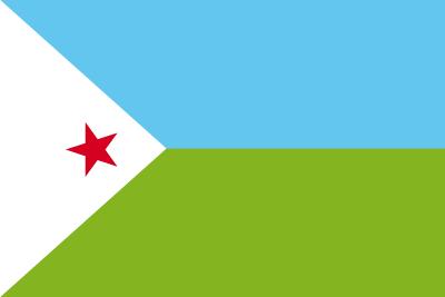 ジブチ共和国の国旗