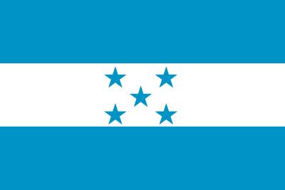 ホンジュラス共和国の国旗