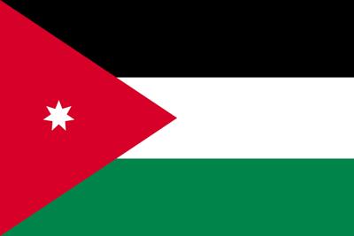 ヨルダン・ハシェミット王国の国旗