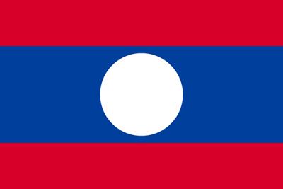 ラオス人民民主共和国の国旗
