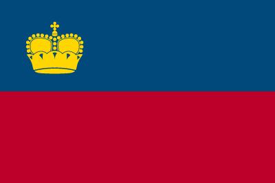リヒテンシュタイン公国の国旗