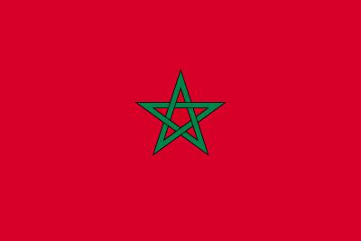 モロッコ王国の国旗