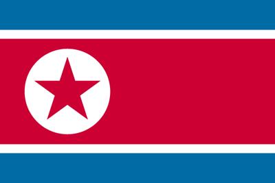 朝鮮民主主義人民共和国の国旗