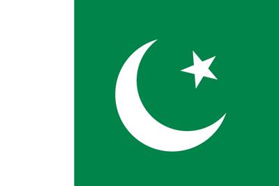 パキスタン・イスラム共和国の国旗