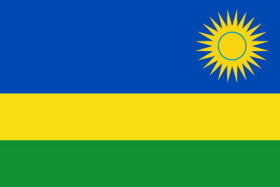 ルワンダ共和国の国旗