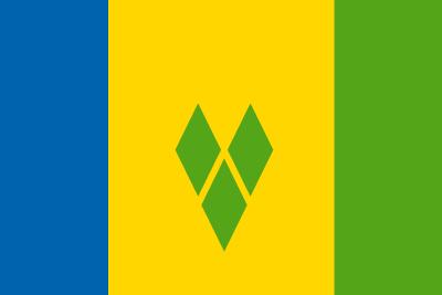 セントビンセント及びグレナディーン諸島の国旗