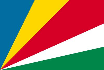 セーシェル共和国の国旗