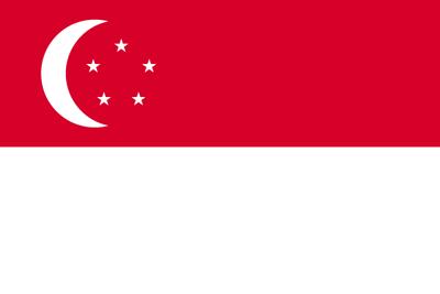 シンガポール共和国の国旗