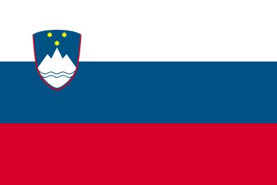 スロベニア共和国の国旗