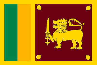 スリランカ民主社会主義共和国の国旗