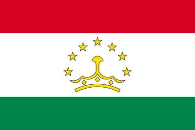タジキスタン共和国の国旗