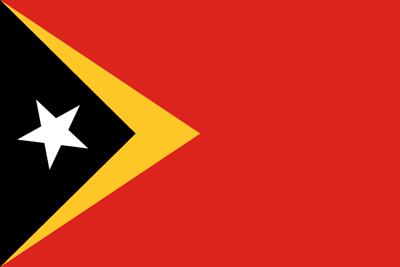 東ティモール民主共和国の国旗