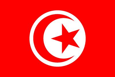 チュニジア共和国の国旗