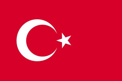トルコ共和国の国旗